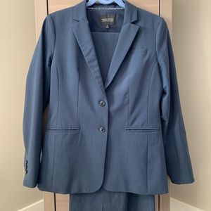 Ladies Blue Banana Republic Blazer and Suit Pants